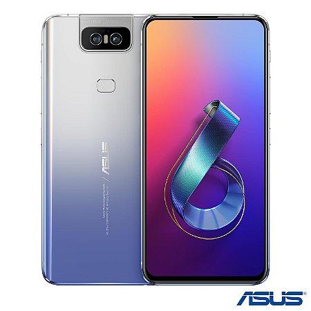 """Smartphone Asus Zenfone 6, com Tela de 6,4"""", 4G, 128 GB e Câmera Flip 48+13MP – ZS630KL"""
