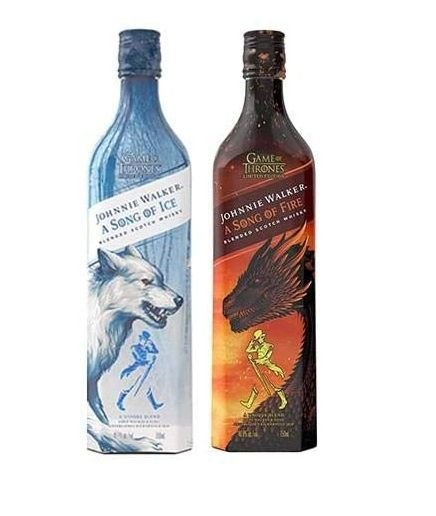 Kit Whisky Game Of Thrones - Song Of Fire e Song Of Ice