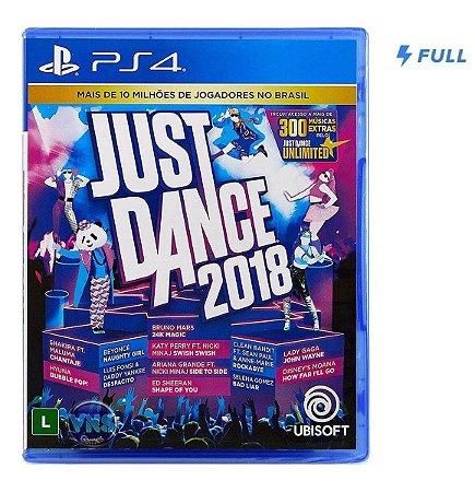 Jogo Dança Just Dance 2018 Musical - PS4