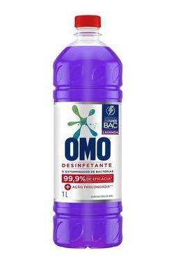 Desinfetante Uso Geral Omo Lavanda - 1L