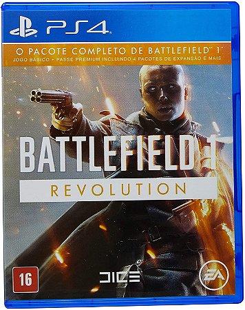 Jogo Battlefield 1 Revolution - Pacote Premium - PS4