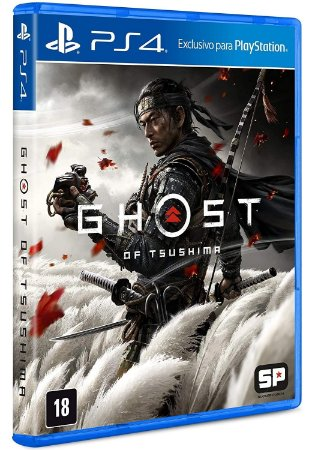 Jogo Ghost Of Tsushima - PS4