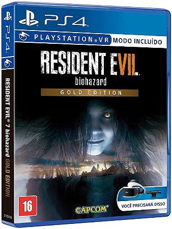 Jogo Resident Evil 7 Gold - PS4