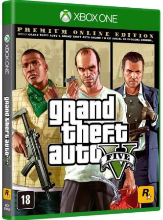 Jogo Grand Theft Auto V - Premium Edition - Xbox One