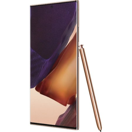 "Smartphone Samsung Galaxy Note 20 Ultra 256GB Dual Chip Android 10.0 Tela 6.9"" Octa-Core 5G Câmera Tripla 108MP+12MP+12MP - Mystic Bronze"