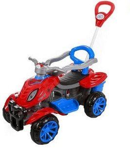 Quadriciclo Infantil Spider 3113 Maral - Vermelho