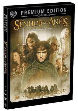 O Senhor Dos Anéis: A Sociedade do Anel - Premium Edition - 2 DVDs