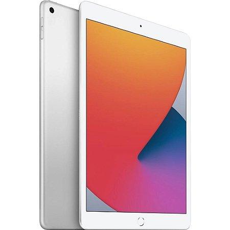 """iPad 10,2"""" 8ª geração Wi-Fi 32GB - Prateado"""