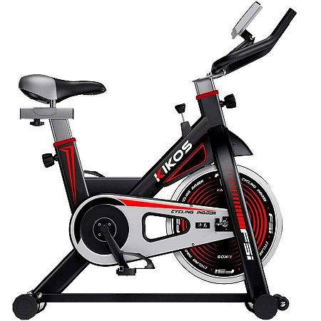 Bicicleta Ergométrica Kikos Spinning F5i Preto