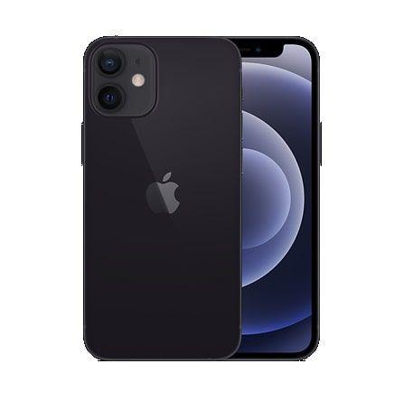 iPhone 12 Mini Preto - Tela de 5,4 Polegadas