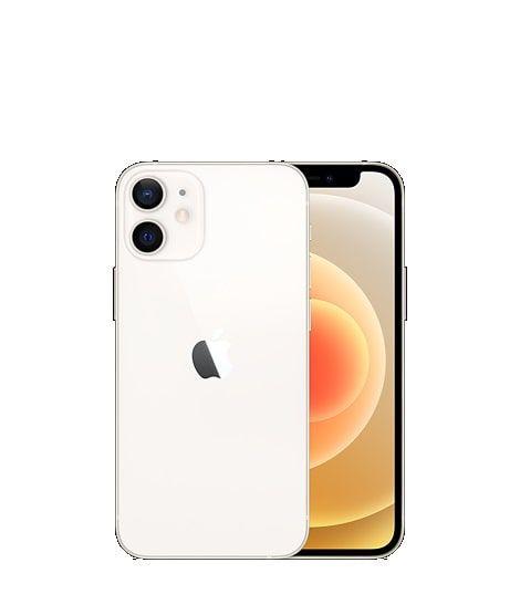 iPhone 12 Mini Branco - Tela de 5,4 Polegadas