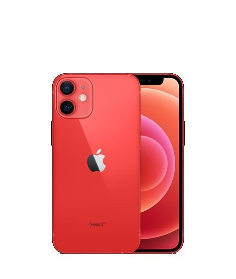 iPhone 12 Mini (PRODUCT) RED - Tela de 5,4 Polegadas