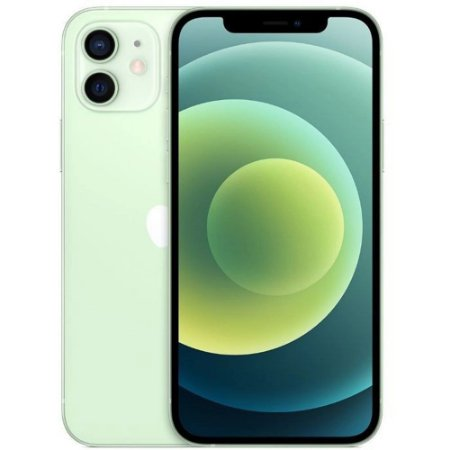 "iPhone 12 Verde iOS 5G Wi-Fi Tela 6.1"" Câmera - 12MP + 12MP - Apple"