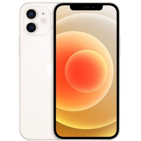 "iPhone 12 Branco iOS 5G Wi-Fi Tela 6.1"" Câmera - 12MP + 12MP - Apple"