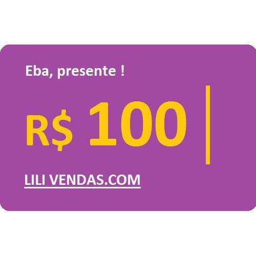 Vale Presente - R$100 (Virtual)
