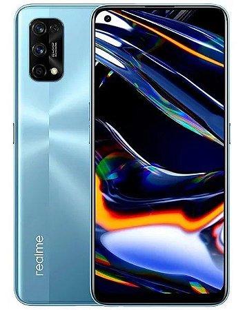Smartphone realme 7 Pro Dual Chip Tela 6,4 Qualcomm Snapdragon 720G Octa-core 8GB / 128GB 4G Câmera Quádrupla 64MP + 8MP + 2MP + 2MP