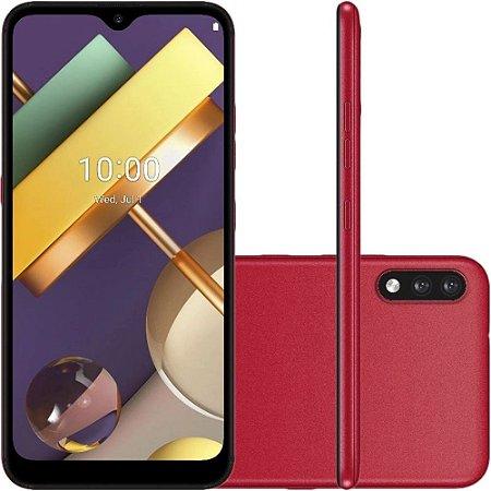 "Smartphone LG K22 Dual Chip Android 10 Tela 6.2"" Quad Core 32GB 4G Câmera 13MP+2MP"