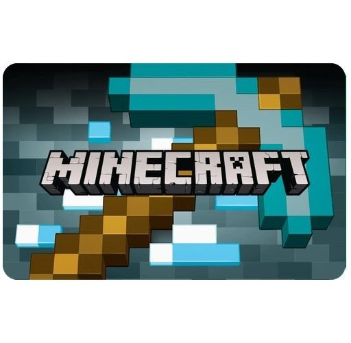 Gift Card Digital Minecraft