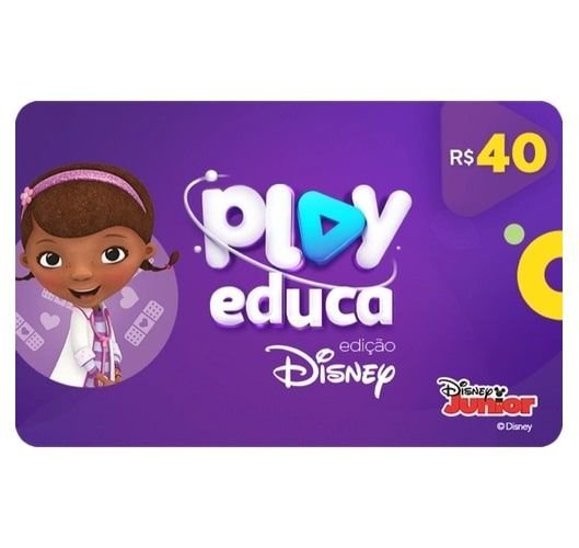 Gift Card Digital Play Educa - 2 meses
