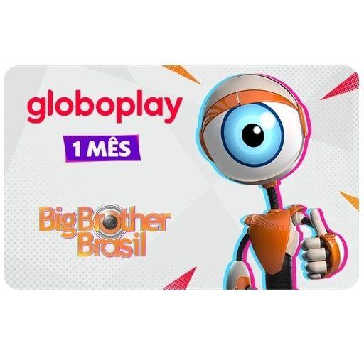 Gift Card Digital Globoplay 1 mês