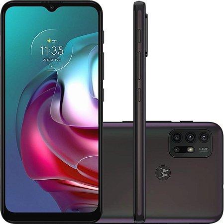 Smartphone Moto G30 128GB 4G Wi-Fi Tela 6.5'' Dual Chip 4GB RAM Câmera Quádrupla + Selfie 13MP