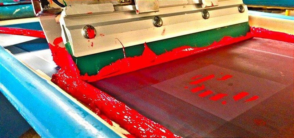 Estampa em Silk em diversos produtos