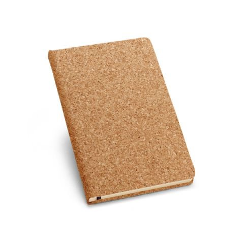 Caderno de Cortiça Capa Dura Personalizado - 90 x 142 mm