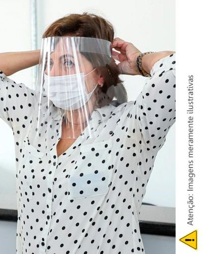 Protetor Facial em Pvc Personalizado