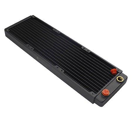 Radiador 360mm de Cobre para Water Cooler Freezemod 32mm - 18 Aletas