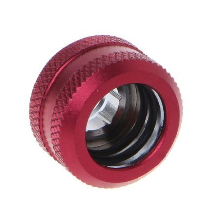 Water Cooler Fitting Compression Vermelho Barrow p/ Tubo Rígido OD 14mm