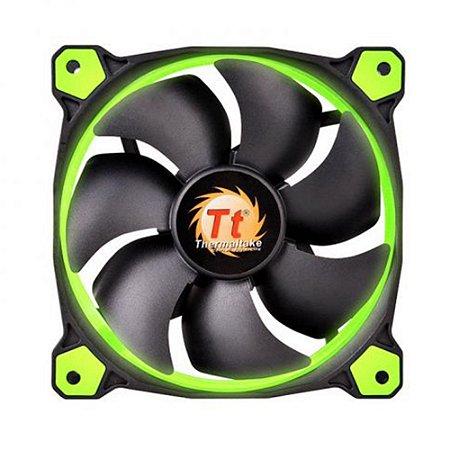 Fan Thermaltake Ring 12 Verde 120mm 1500RPM