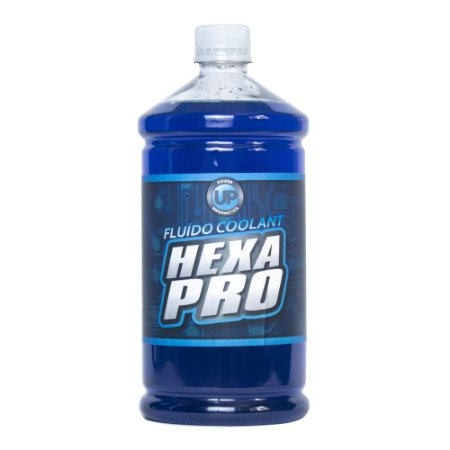 Fluido Líquido Water Cooler Power UP HEXA PRO Azul 1 Litro
