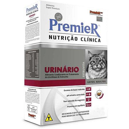 RAÇÃO PREMIER NUTRIÇÃO CLÍNICA GATOS ADULTOS URINÁRIO