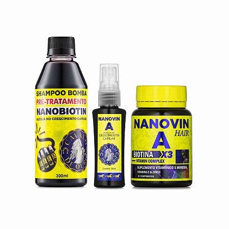 TRATAMENTO NANOVIN A HAIR
