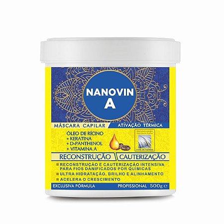 MÁSCARA DE RECONSTRUÇÃO - HIDRATAÇÃO -  NANOVIN A 500 G
