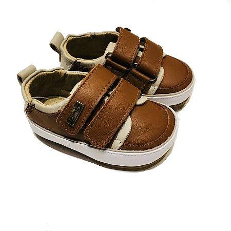 730a5d655 Tênis Gambo Baby Velcro Duplo Caramelo - Compre na Pin Pin Baby ...