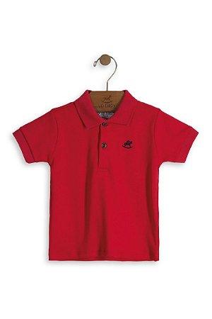 543ef4bee2f Camisa Polo Up baby Vermelha - Compre na Pin Pin Baby - Pin Pin Baby ...
