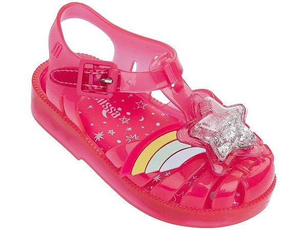 5b846f2c60 Sandália Mini Melissa Possession II Rosa - Compre na Pin Pin Baby ...