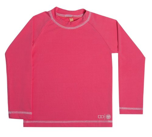 Camiseta Proteção Solar Rosa - Pin Pin Baby - Calçados e Roupas para ... a059493c828