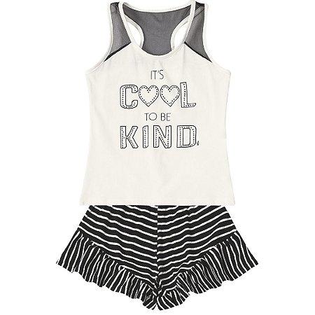 0ee92b3f6 Conjunto Marisol It´s Cool To Be Kind - Pin Pin Baby - Calçados e ...