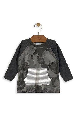 c2d285189 Camiseta Manga longa Up baby Camuflada - Compre na Pin Pin Baby ...