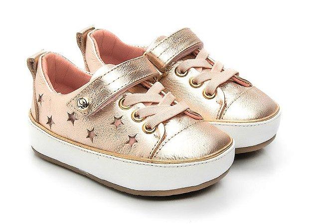 8dc837df8 Tênis Gambo Baby Estrelas Cristal Rosê - Compre na Pin Pin Baby ...