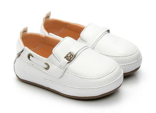 8aa18f7b4 Mocassim Gambo Baby Branco - Compre na Pin Pin Baby - Pin Pin Baby ...