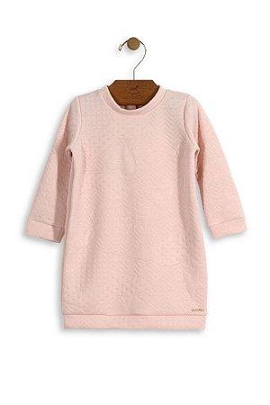 086b0b4d4 Vestido Up Baby Manga Longa Rosa - Pin Pin Baby - Calçados e Roupas ...