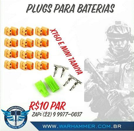 Plugs para bateria