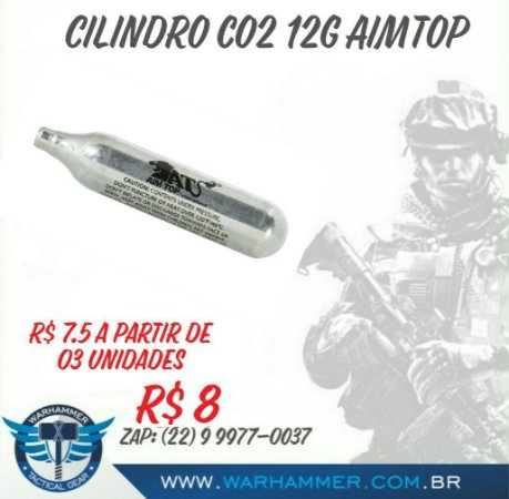 Cilindro CO2 12g Aimtop