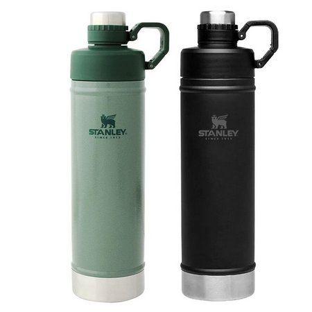 Kit Hydration 750ml Verde e Preta - STANLEY