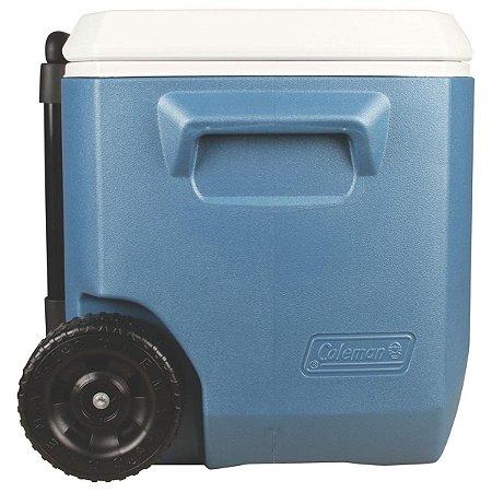Caixa Térmica Xtreme 50QT / 47,3 Litros Azul com Rodas - COLEMAN