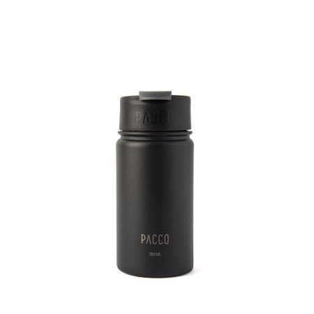 Tumbler Térmico com Infusor 350ml  Preto - PACCO BY