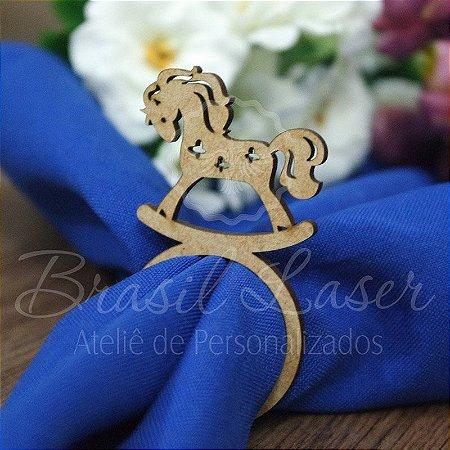 1 Porta Guardanapo Cavalo Cavalinho Balanço - #Quant.Mínima: 10 unidades iguais# PGP 02062A